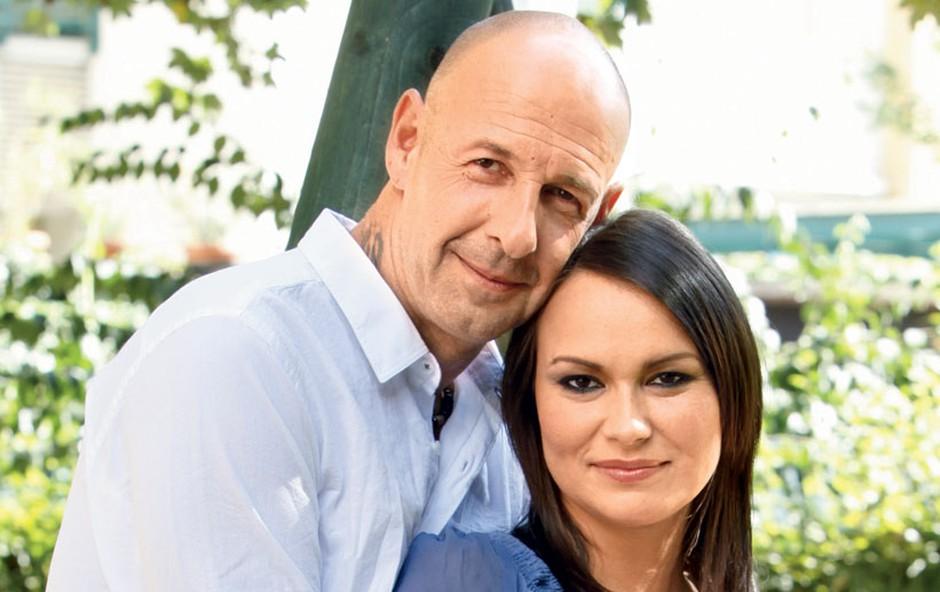 Jože in Doris - v pričakovanju (foto: arhiv Nove)