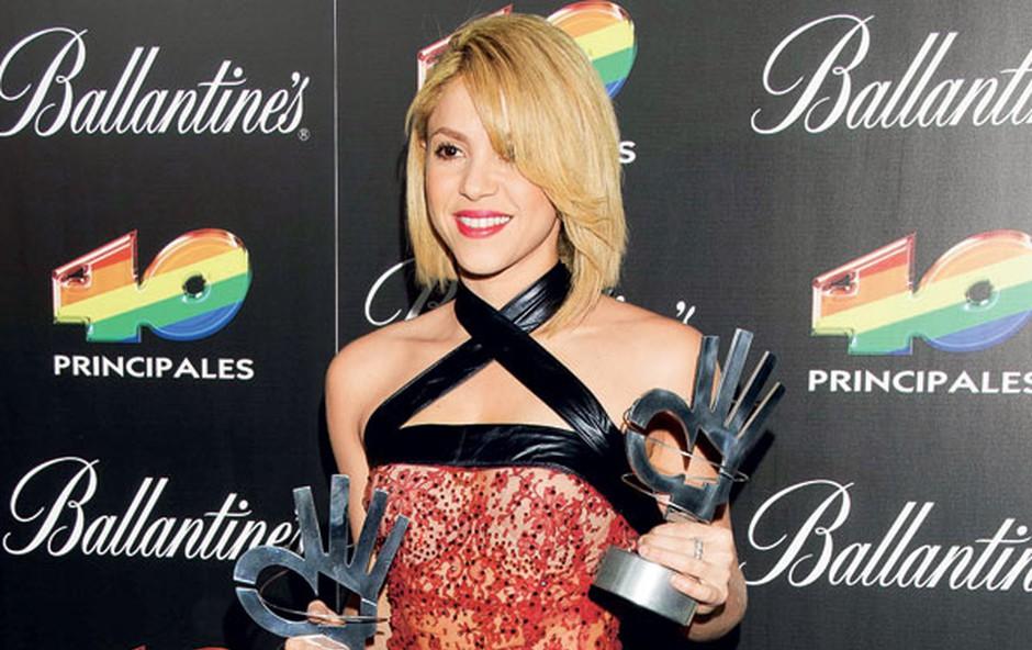 Največja zvezdnica prireditve je bila Shakira. (foto: Nina Keder, Goyo Conde)