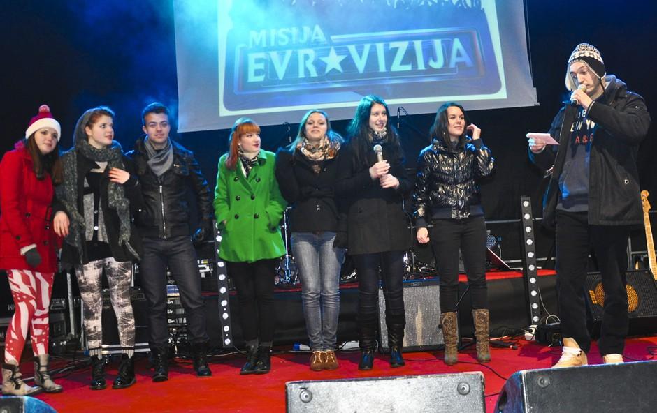 Koncert v živo oddaje Misija Evrovizija (foto: DonFelipe)