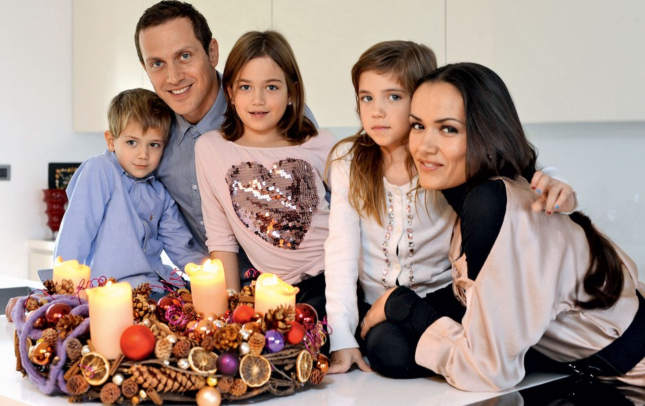 Otroci so njuna sreča (foto: Primož Predalič)
