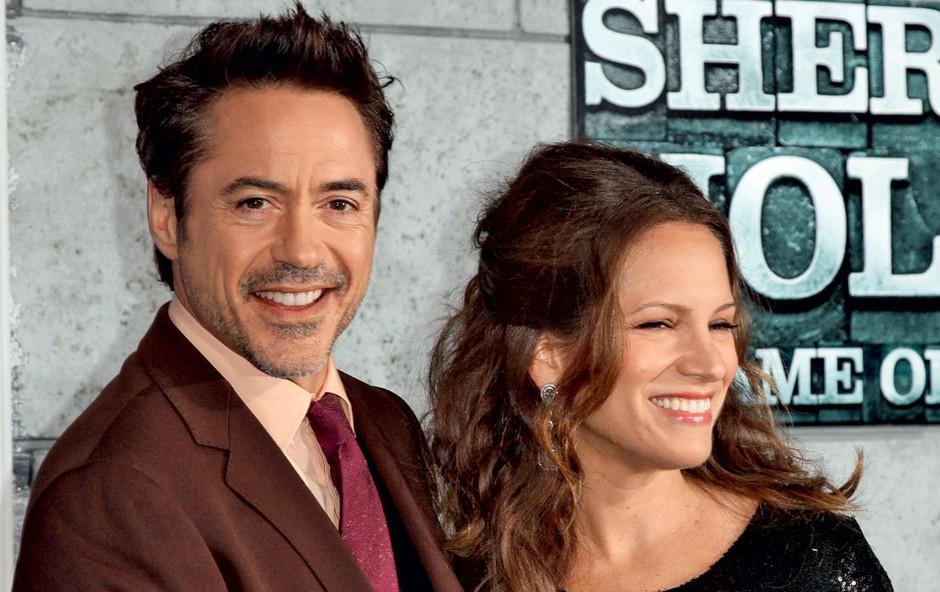 Robert Downey Jr. težko prenaša ženino nosečnost. (foto: Profimedia.si)