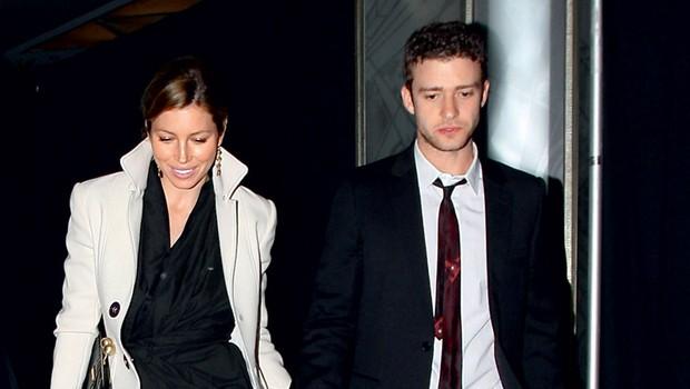 Jessica Biel in Justin Timberlake (foto: Profimedia.si)