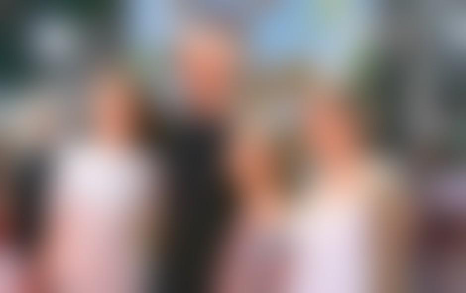 Bruce Willis s svojimi hčerkami