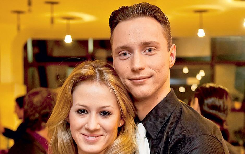 Daria Ševeliova in Matej Kralj (foto: Story press)