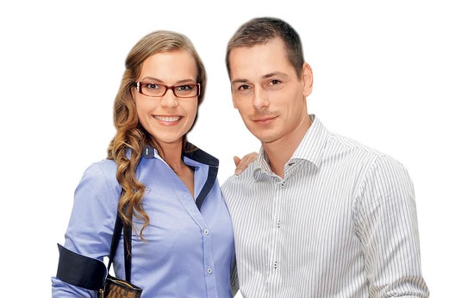 Tina Petelin in Adam (foto: Primož Predalič)