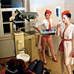V spotu nastopata tudi dve medicinski sestri, a čeprav sta videti hudo seksi, naj vas videz ne zavede. Sposobni sta marsičesa. (foto: Zoran Aragović)