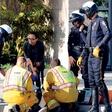 Zoe Saldana: Pomagala v prometni nesreči