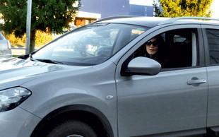 Rebeka Dremelj: Ujeta pri parkiranju