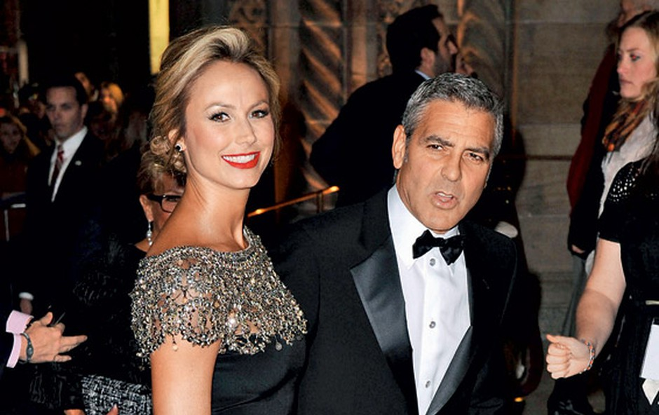 Stacey Kiebler in George Clooney (foto: Profimedia.si)