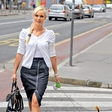 Pia Pustovrh: Obiskala Beograd