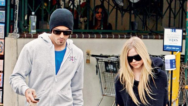 Brody Jenner in Avril Lavigne (foto: Profimedia.si)