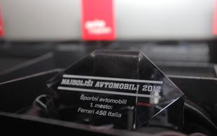 Audi 'odnesel' kar štiri nagrade v akciji Najboljši avtomobili 2012