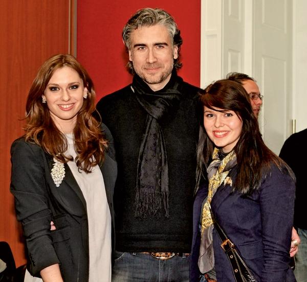 Lea Perovšek, Jan Plestenjak in Tina.
