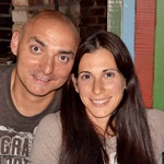 Prav njen mož Matija, ki je prav tako atlet je zaslužen, da Marija še skače. (foto: Osebni arhiv)