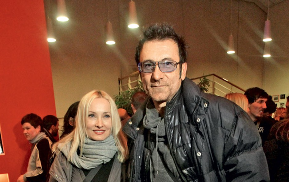 Tanja Ribič in Branko Đurič Đuro (foto: Goran Antley)