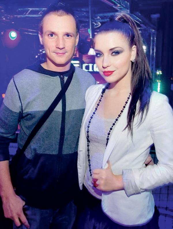 Miha Orešnik in Maja Keuc