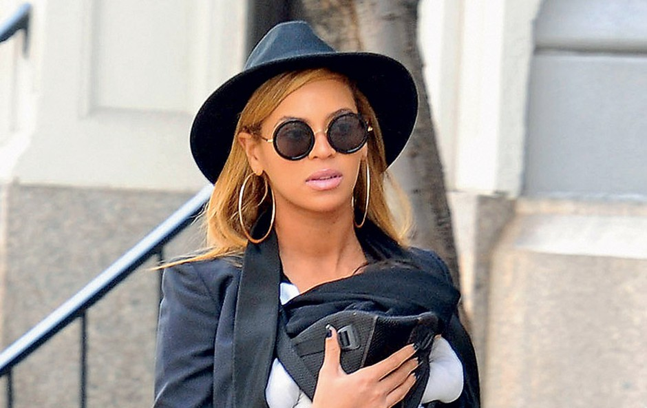 Beyoncé s hčerkico Blue Ivy Carter (foto: Profimedia.si)