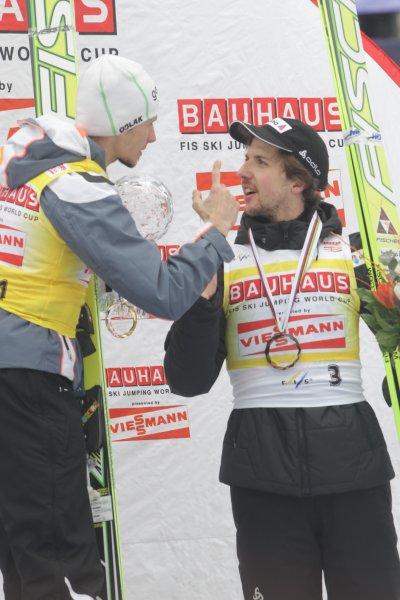 Robert Kranjec in Simon Amman