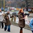 Majca Mavec: Pridružila se je protestom