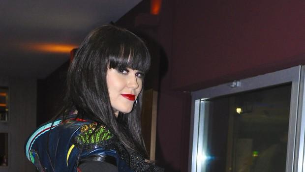 Nika Zorjan na promociji svojega videospota Čas za nas (foto: DonFelipe)
