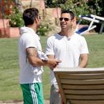 Ricky Martin s fantom Carlosom Gonzálezom Abellom (foto: Profimedia.si)