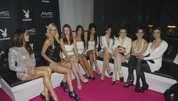 Povabljena Playboyeva dekleta iz vseh koncev Evrope so bile prava paša za oči. (foto: Sašo Radej)