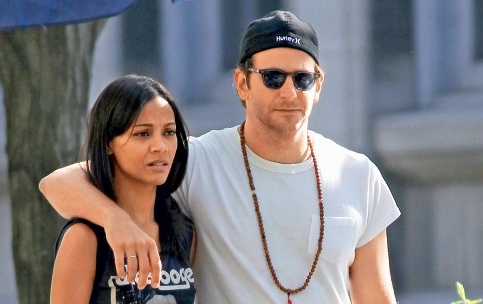 Bradley Cooper in Zoe Saldana (foto: Profimedia.si)