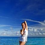 Nina je uživala na South Beachu v Miamiju (foto: Playboy)