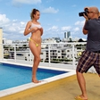 Ekskluzivno vroče: Gola Nina v Miamiju