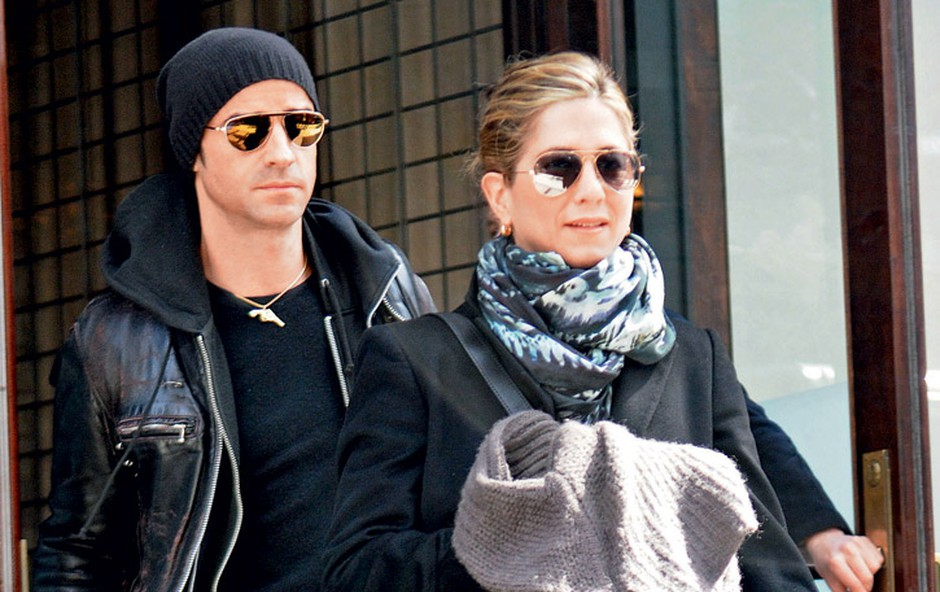 Justin Theroux in Jennifer Aniston (foto: Profimedia.si)