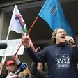 Foto: Protesti javnega sektorja v Ljubljani