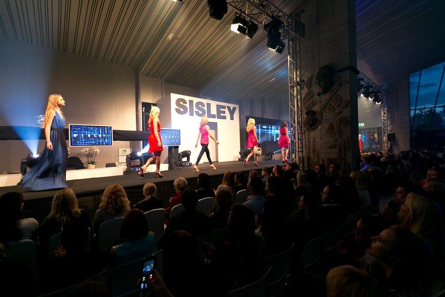 Modna revija Sisley