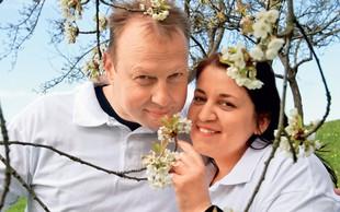 Erika Mubi in Damijan Smolak (Ljubezen na seniku): Na obisku