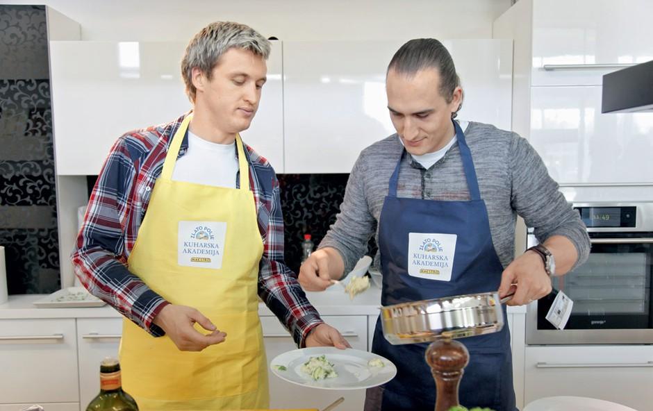 Denis Avdić in Vid Valič (foto: Helena Kermelj)