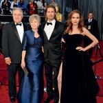 Starši Brada Pitta so končno sprejeli Angelino za svojo. (foto: Profimedia.si)
