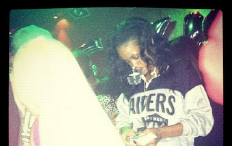 Rihanna: Striptizetam delila denar (foto: Rihanna/Instagram)