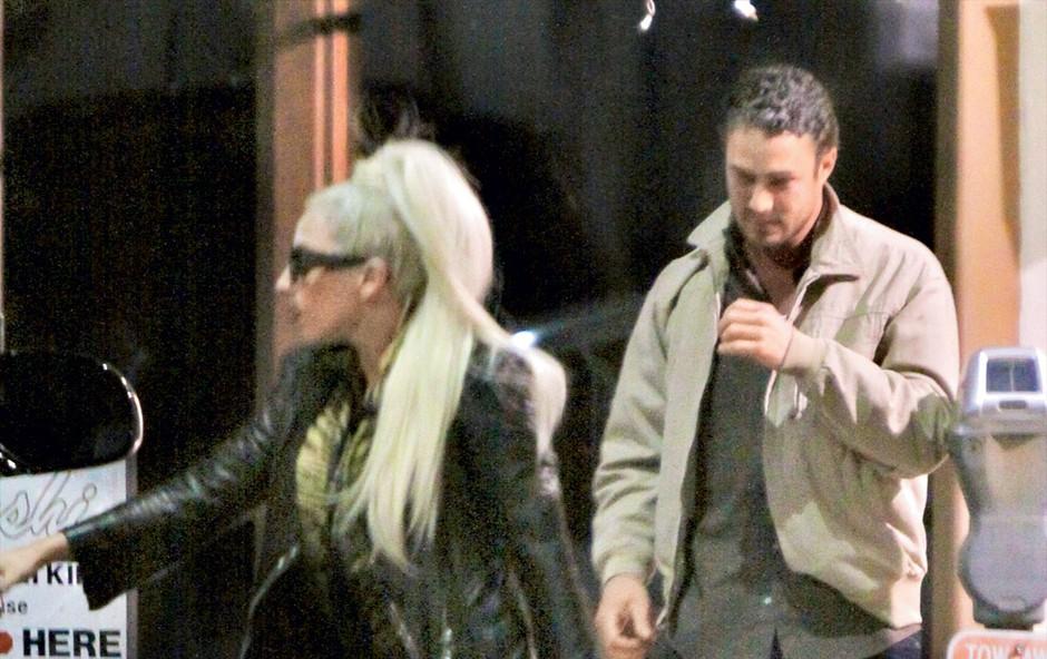 Lady Gaga in Taylor Kinney (foto: Profimedia.si)