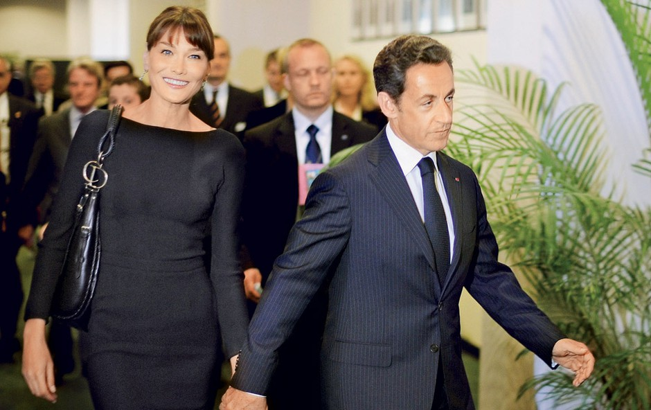 Carla Bruni in Nicolas Sarkozy (foto: Profimedia.si)