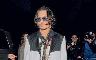 Johnny Depp: Konj mu je rešil življenje