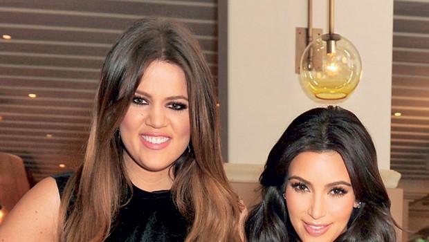 Khloe in Kim Kardashian (foto: Profimedia.si)
