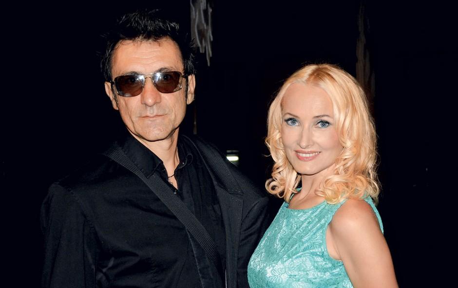 Branko Djurić Đuro in Tanja Ribič (foto: Sašo Radej)