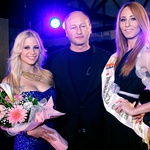 Organizator, Drago Gavranovič iz sarajevske agencije Metropola Media, je ob koncu poziral z zmagovalkama Anjo in Jeleno. (foto: Vesmin Kajtazovič (VesoArt))