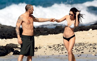 Megan Fox in Brian Austin Green: Deklica bo
