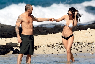 Brian Austin Green in Megan Fox