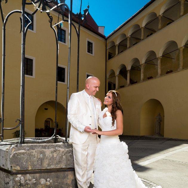 Brigita se je poročila s svojo dolgoletno ljubeznijo Maksom.