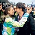 Tina Maze in Andrea Massi: zaljubljenca samo poleti