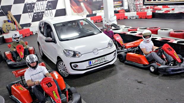 Pohitite, če želite kar en mesec uporabljati avtomobil Volkswagen Up! (foto: Saša Kapetanovič)
