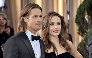 Brad Pitt in Angelina Jolie: Poroke (še) ne bo