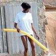 Naomi Campbell: Uči se plavati