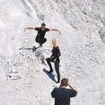 Jernej je zavzel pozo planinskega orla. (foto: DonFelipe)